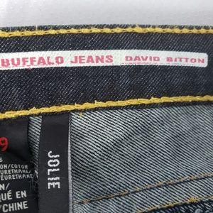 "Buffalo David Bitton Jeans - Buffalo Jeans ""Jolie"" Dark Lightweight Denim, 29"